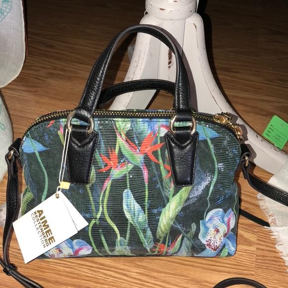 787c447ee Aimee Kestenberg Bags | Qvc Mini Orchid Crossbody | Poshmark